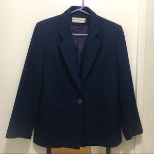 Vintage Dumas Wool Blazer w/ Pockets